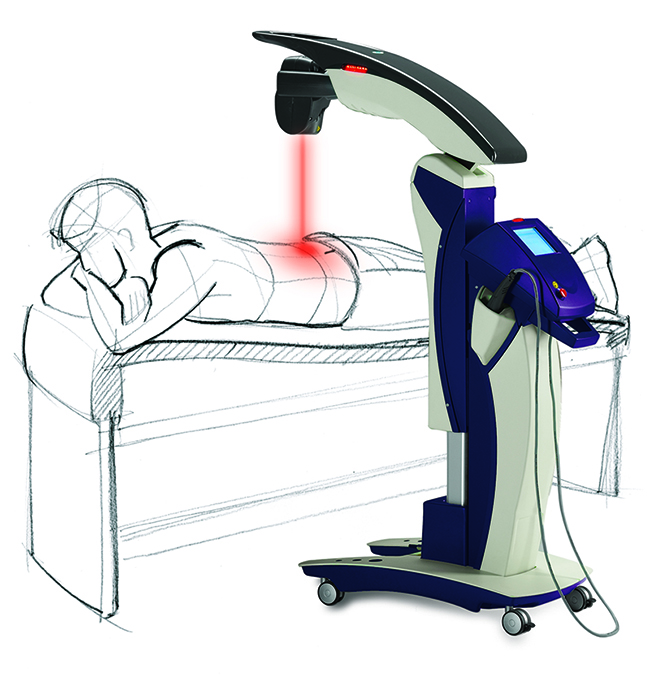 painless laser therapy chiropractic clinic